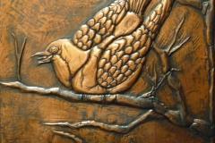 Kupferbild - Taube